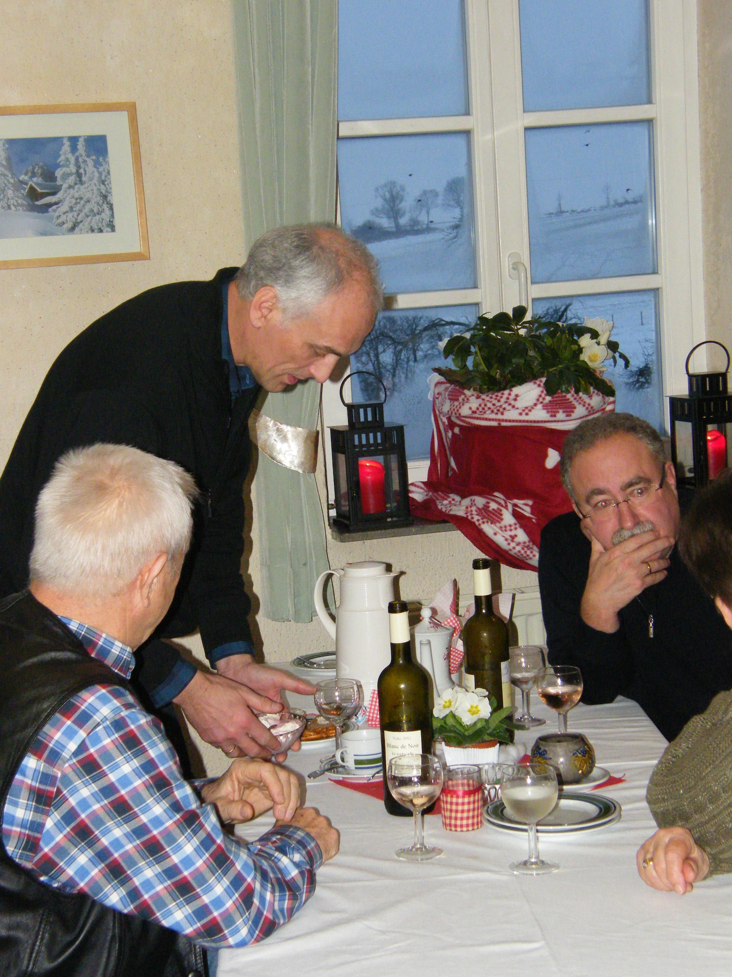 """Dorfcafe im Januar 2013 (""""Hüttenzauber"""") – Bericht und Bilder"""