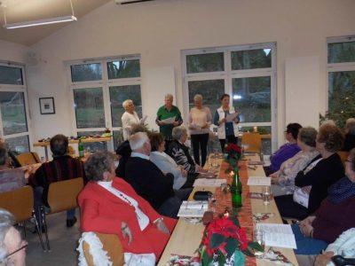 Weihnachtsfeier des Seniorenkreises