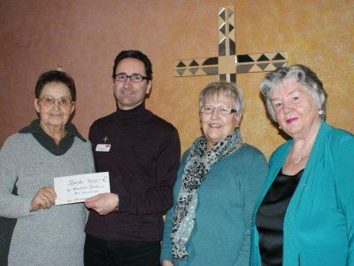 Spendenaktion der Winterbacher Senioren