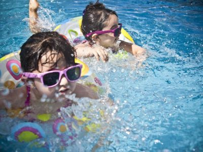 Beachparty und Kinderfest im Schwimmbad
