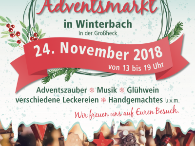 1. Adventsmarkt in Winterbach